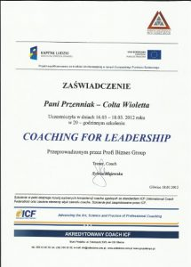 coach postawa