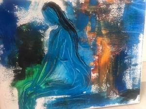 niebieski obraz Wiolleta Przenniak-Cołta